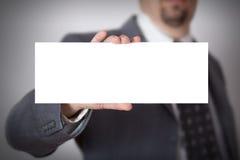 Carta in bianco Fotografia Stock Libera da Diritti
