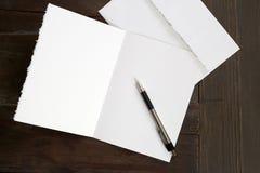 Carta in bianco 2 Fotografia Stock