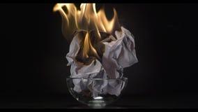 Carta bruciante, fuoco archivi video
