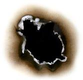 Carta bruciata Immagine Stock Libera da Diritti