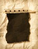 Carta carbone violenta su priorità bassa spiegazzata Immagini Stock Libere da Diritti
