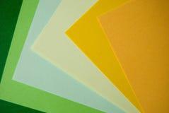 Carta colorata Fotografie Stock