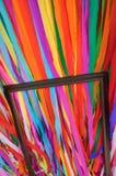 Carta colorata ed incorniciato Immagini Stock Libere da Diritti