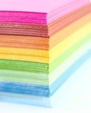 Carta Colourful Fotografia Stock Libera da Diritti