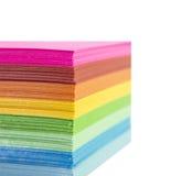 Carta Colourful fotografia stock