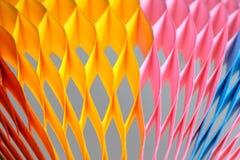 Carta colourful vaga su fondo Immagine Stock