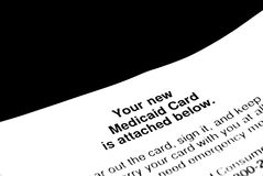 Carta comercial Imagenes de archivo