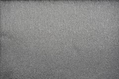 Carta crespa metallica di colori dell'argento naturale di strutture un allungamento di 40 per cento Fotografia Stock Libera da Diritti