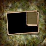 Carta d'annata con le strutture di lerciume per le foto Immagini Stock Libere da Diritti