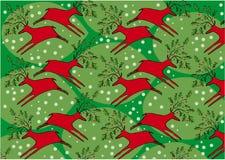 Carta da imballaggio di Natale Fotografia Stock Libera da Diritti