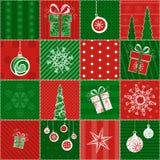 Carta da imballaggio di Natale Immagine Stock