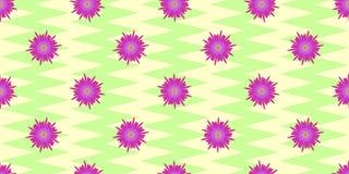 Carta da imballaggio floreale Fotografie Stock