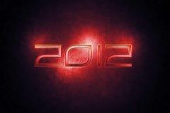 Carta da parati 2012 illustrazione di stock
