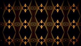 Carta da parati arancio astratta del modello di colore del nero scuro Fotografia Stock