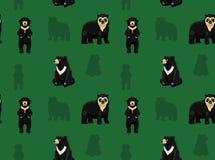 Carta da parati asiatica 1 dell'orso Fotografie Stock Libere da Diritti