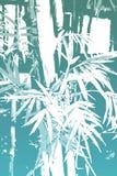 Carta da parati astratta asiatica di bambù della priorità bassa Fotografia Stock