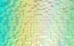 Carta da parati astratta del modello dei blocchi Fotografia Stock