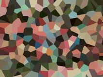 Carta da parati astratta di effetto del pixel Immagine Stock