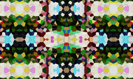 Carta da parati astratta di effetto del pixel Fotografia Stock