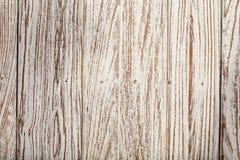 Carta da parati bianca di struttura del fondo di colore del vecchio tek di legno Fotografie Stock Libere da Diritti