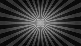 Carta da parati in bianco e nero del desktop dello sprazzo di sole Fotografia Stock