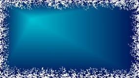 Carta da parati blu delle piante Immagini Stock Libere da Diritti
