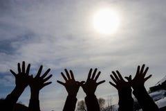 Carta da parati: cielo e divertimento Immagini Stock Libere da Diritti