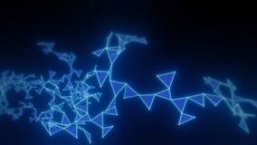 Carta da parati cyber di tecnologia di rete del plesso immagine stock libera da diritti