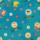 Carta da parati dei bambini royalty illustrazione gratis