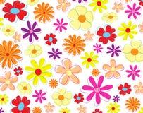 Carta da parati dei fiori Immagini Stock