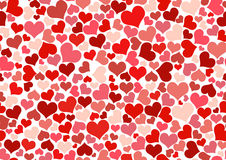 Carta da parati del cuore Immagine Stock