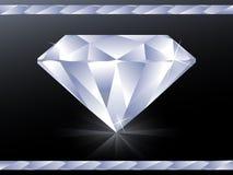 Carta da parati del diamante Fotografie Stock