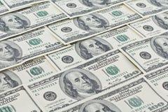 Carta da parati del dollaro Fotografia Stock Libera da Diritti
