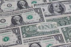 Carta da parati del dollaro americano Fotografia Stock Libera da Diritti