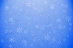 Carta da parati del fiocco della neve Immagini Stock Libere da Diritti