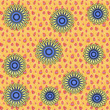 carta da parati del fiore Fotografie Stock