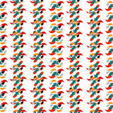Carta da parati del modello del fondo colorata estratto Immagine Stock Libera da Diritti