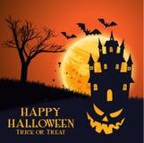 Carta da parati del partito di Halloween fotografia stock