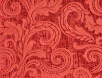 Strisce rosse di verticale del tessuto del velluto della for Carta da parati in velluto