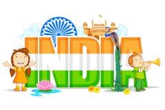 Carta da parati dell'India Fotografia Stock
