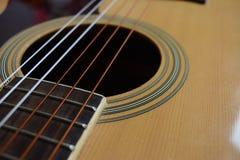 Carta da parati della chitarra Fotografia Stock