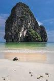 Carta da parati della destinazione della natura della spiaggia del sole della sabbia di mare dell'isola della noce di cocco Fotografia Stock