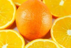 Carta da parati delle arance Fotografia Stock