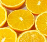 Carta da parati delle arance Fotografie Stock Libere da Diritti