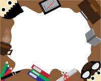 Carta da parati di affari Immagine Stock Libera da Diritti