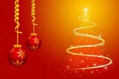 Carta da parati di Buon Natale illustrazione di stock