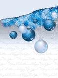 Carta da parati di Buon Natale & del buon anno Immagini Stock Libere da Diritti