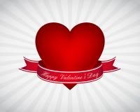 Carta da parati di giorno del biglietto di S. Valentino Fotografia Stock