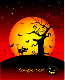Carta da parati di Halloween Immagini Stock Libere da Diritti