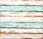 Carta da parati di legno colorata di struttura del fondo delle mattonelle Immagini Stock Libere da Diritti